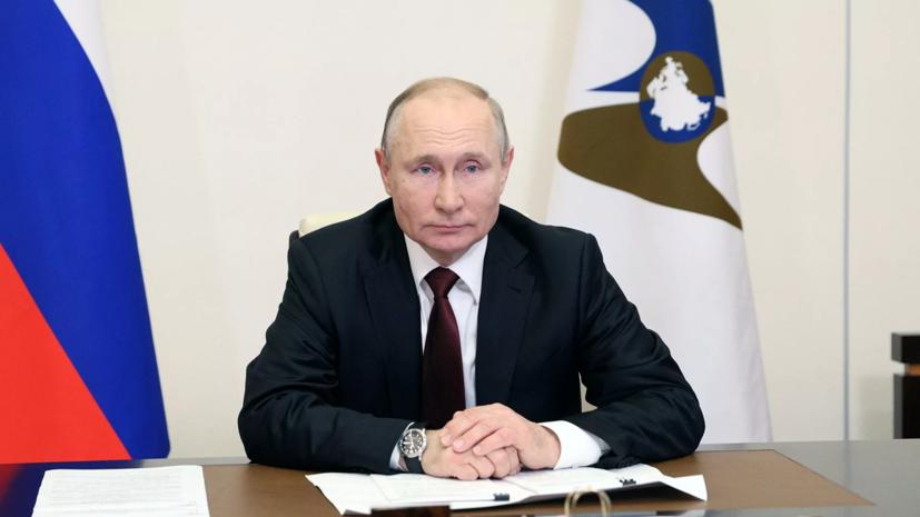 Путин заявил, что только Россия передаёт технологии по вакцинам от COVID-19