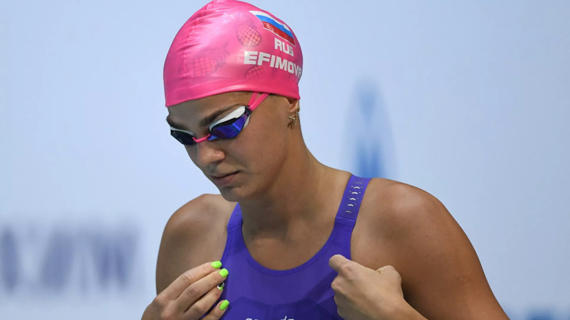 Ефимова завоевала бронзу ЧЕ в плавании на 200 м брассом