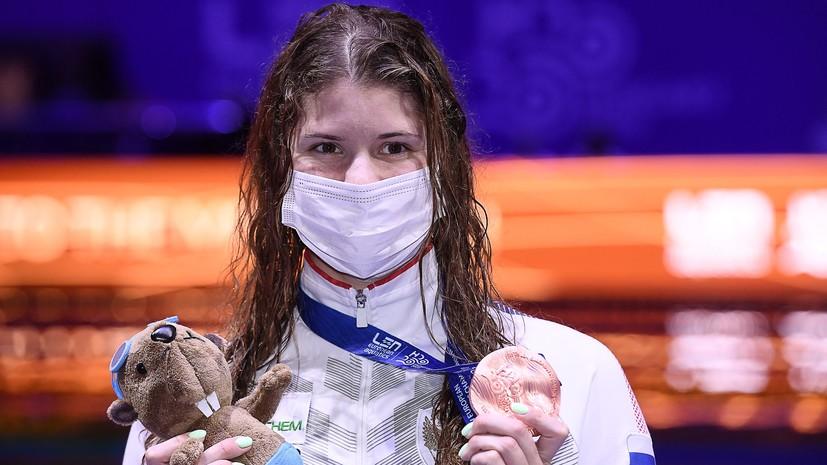 Каменева заявила, что была удивлена решению повторно провести финал ЧЕ на дистанции 100 м на спине