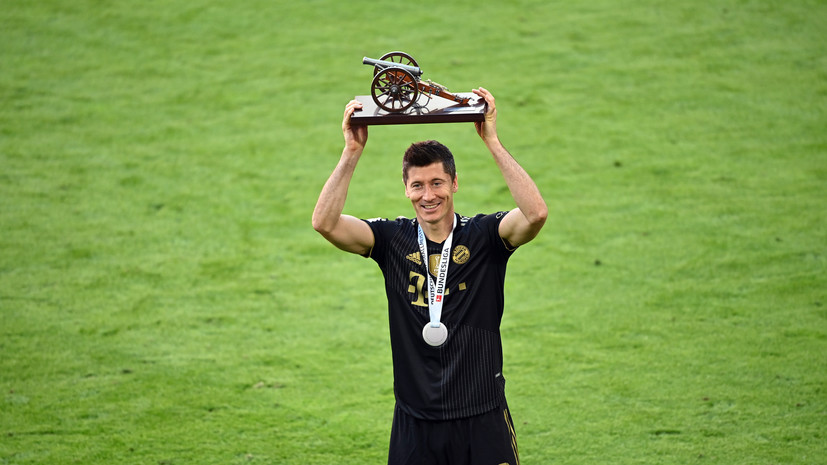 Левандовски побил исторический рекорд Герда Мюллера по голам за сезон в Бундеслиге