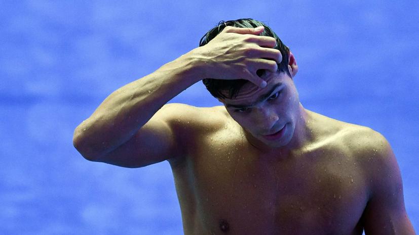 Пловец Рылов завоевал золото ЧЕ на дистанции 200 м на спине