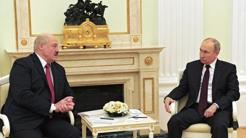 Путин проведёт встречу с Лукашенко на следующей неделе