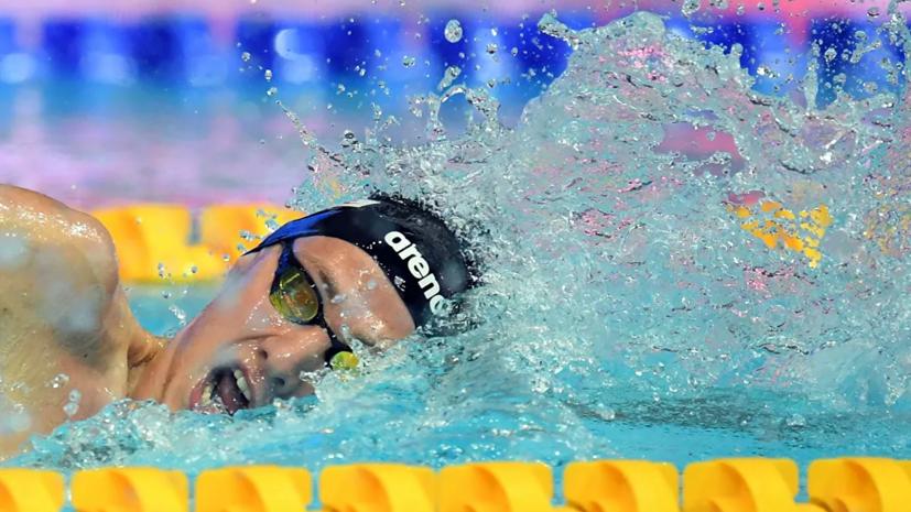 Бородин стал чемпионом Европы в комплексном плавании на 400 м с юниорским рекордом мира