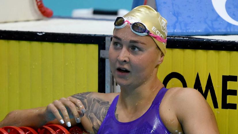 Егоровастала серебряной призёркой ЧЕ в плавании на 400 м вольным стилем