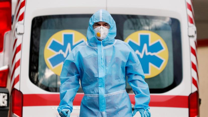 На Украине за сутки выявили 1334 новых случая коронавируса