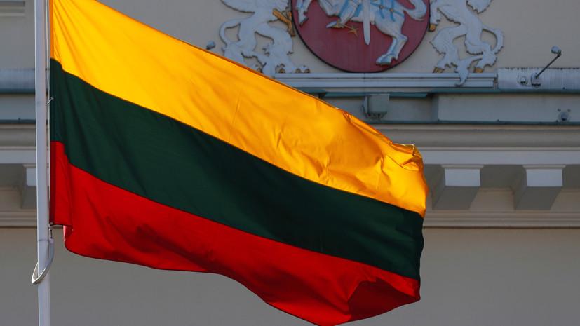 МИД Литвы рекомендовал гражданам воздержаться от поездок в Белоруссию