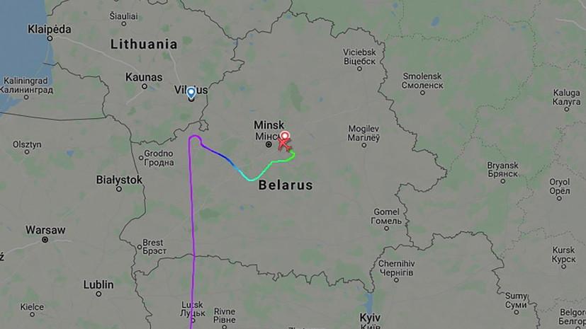 В Минске рассказали подробности сообщения оминировании самолёта Ryanair