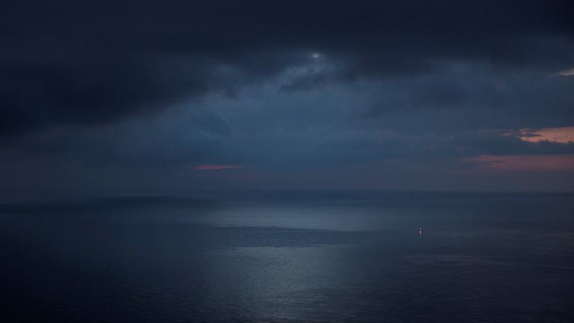 В Туапсе ввели режим повышенной готовности из-за разлива нефти в море