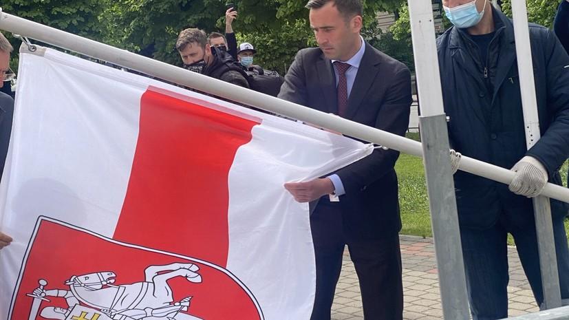В Кремле прокомментировали замену госфлага Белоруссии на ЧМ по хоккею в Риге
