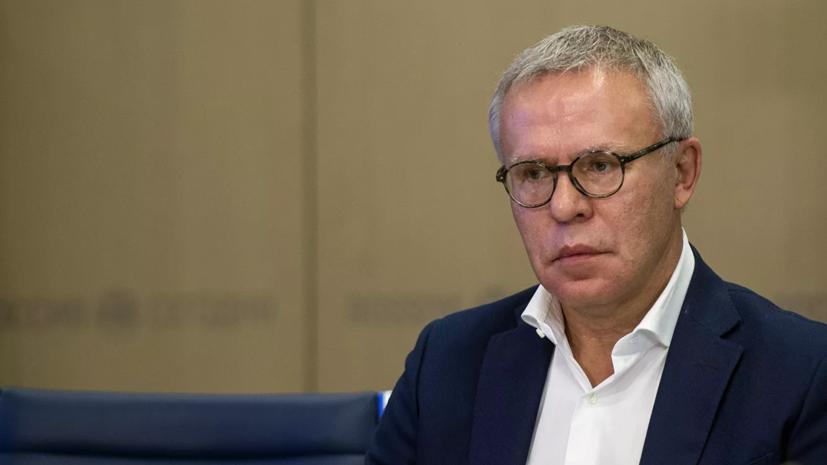 Фетисов назвал беспределом снятие флага федерации хоккея в Риге