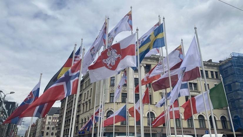 Минспорта Белоруссии отреагировало на замену флага страны на ЧМ в Латвии