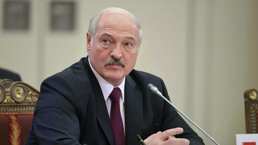 Лукашенко оценил сообщения о том, что данные о бомбе в самолёте могло отправить ХАМАС