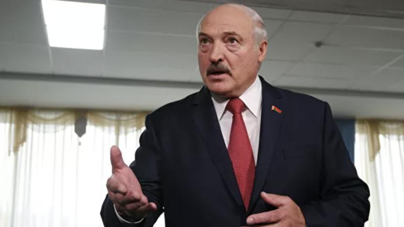 Лукашенко рассказал о решении пилота самолёта Ryanair приземлиться в Минске