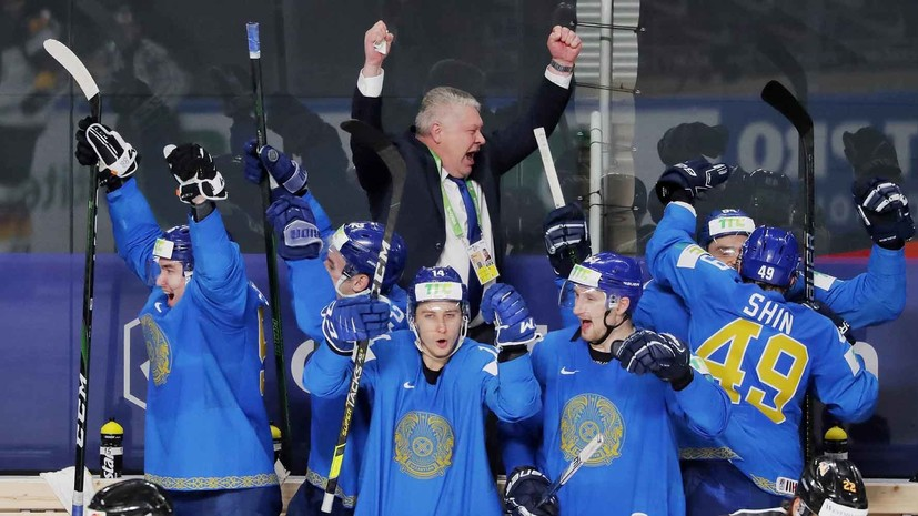 Первые очки Канады, третья победа Казахстана и неожиданное поражение Белоруссии: чем запомнился шестой день ЧМ по хоккею