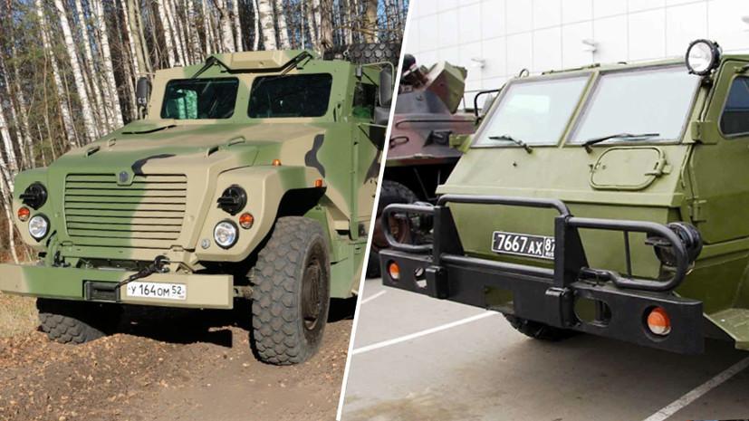 Машины высокой проходимости: чем уникальны российские бронеавтомобили «Медведь» и «Водник»0