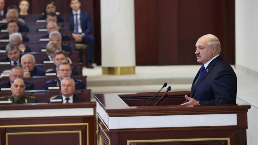 Лукашенко поддержал увеличение сроков полномочий депутатов Белоруссии