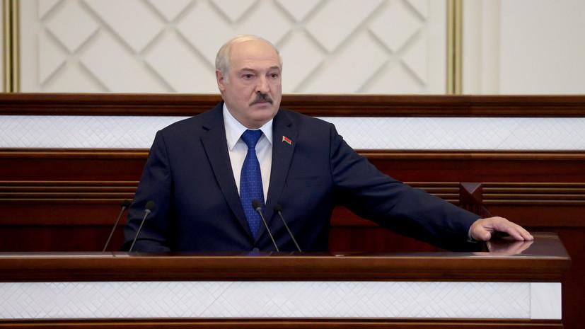 Лукашенко поддержал идею ввести ответственность за призывы к санкциям