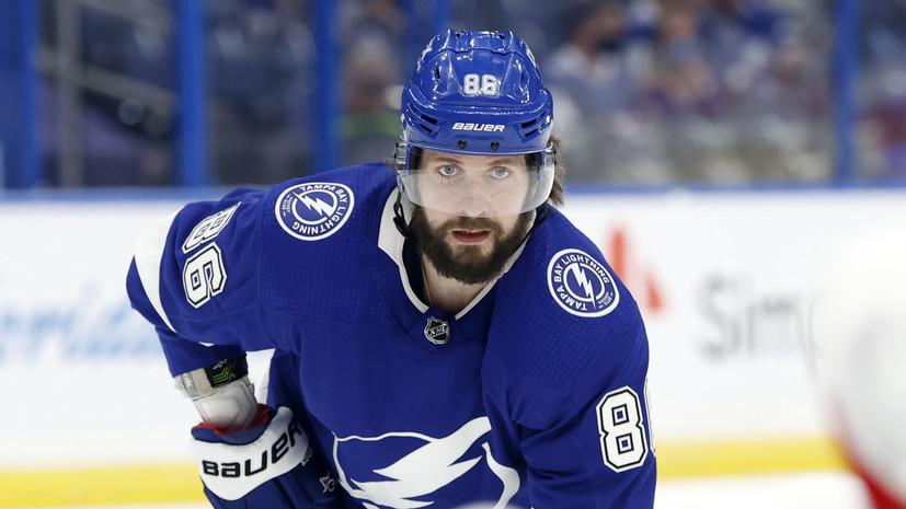 Кучеров набрал 11 очков в шести матчах плей-офф НХЛ и стал лучшим бомбардиром Кубка Стэнли
