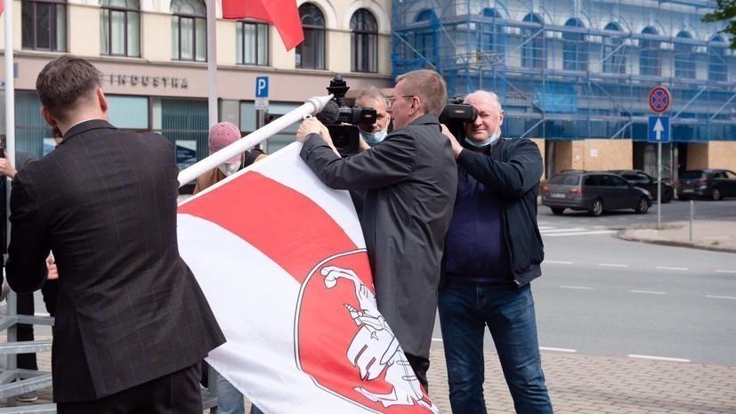 Мэр Риги сделал заявление о ситуации со сменой флага Белоруссии