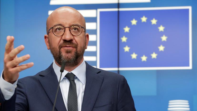 Глава Евросовета заявил о запуске процесса реализации санкций против Минска