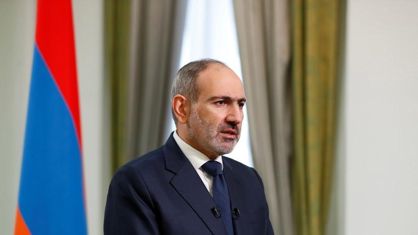 Пашинян прокомментировал взятие в плен армянских военных