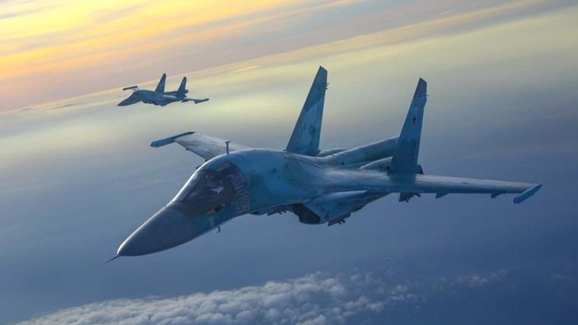 Авиация ЧФ отработала нанесение ракетных ударов во время тренировки