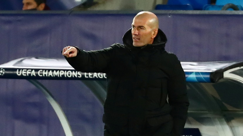 Источник: Зидан стал кандидатом на пост главного тренера ПСЖ