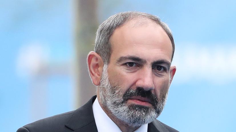 Пашинян заявил о желании оппозиции и Азербайджана спровоцировать войну