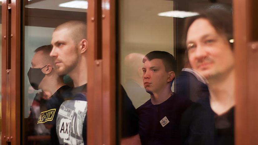 Экс-полицейские получили от пяти до 12 лет колонии по делу Голунова