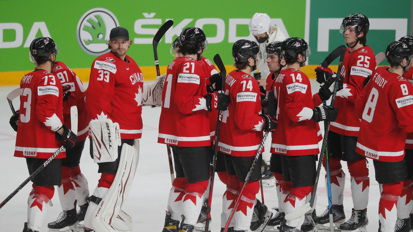 Канада победила Казахстан на ЧМ-2021 по хоккею