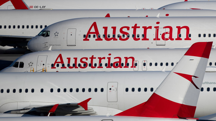 Austrian Airlines получила разрешение на рейс в Москву вобход Белоруссии
