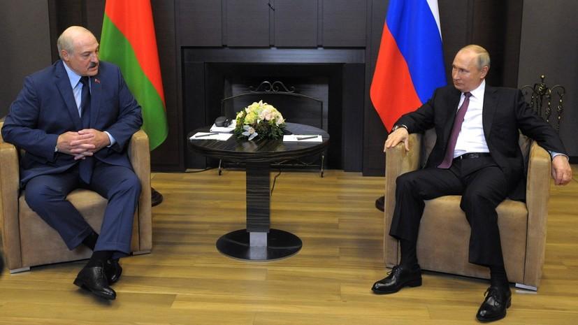 Путин и Лукашенко обсудили взаимодействие в таможенной и налоговых сферах
