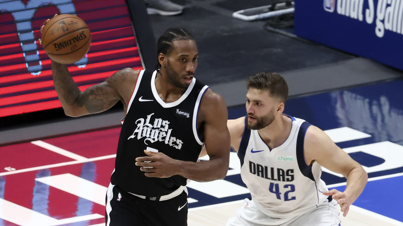 «Клипперс» разгромили «Даллас» и сравняли счёт в серии плей-офф НБА