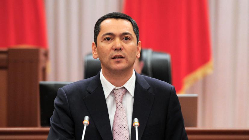 В Киргизии заявили о задержании экс-премьера по подозрению в коррупции