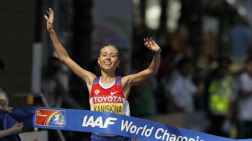 Чемпионка ОИ-2008 Ольга Каниськина выиграла праймериз «Единой России»