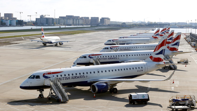 Россия возобновит авиасообщение сВеликобританией с2июня