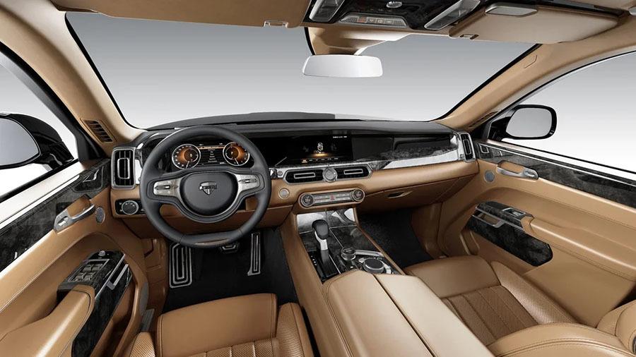«Спрос обязательно будет»: чем примечателен новый российский люксовый автомобиль Aurus Senat2