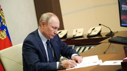 Штрафы за материалы СМИ-иноагентов без маркировки и отмена дня тишины: Путин подписал ряд законодательных актов