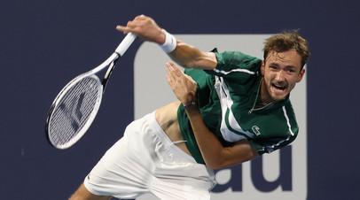 Медведев и Демолинер вышли во второй круг парного разряда турнира АТР в Мадриде