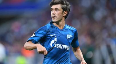 Источник: Жирков уйдёт из Зенита после окончания сезона