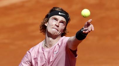 Рублёв обыграл Пола во втором круге турнира ATP в Мадриде
