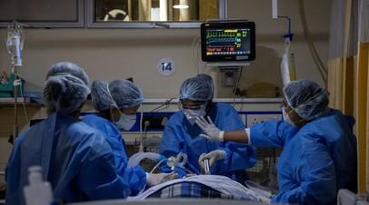 В Индии зафиксирован антирекорд по числу умерших от коронавируса за сутки