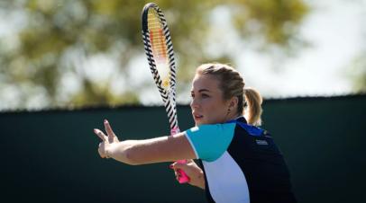 Теннисистка Павлюченкова призналась, что думала о завершении карьеры