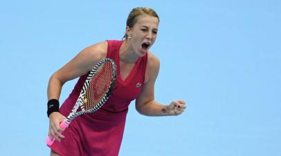 Павлюченкова одолела Мухову и вышла в полуфинал турнира WTA в Мадриде