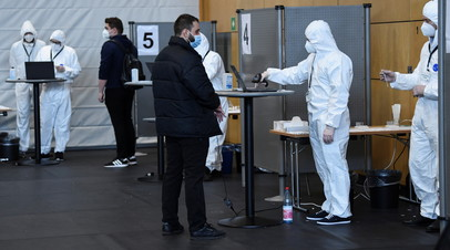 В Германии за сутки выявили более 21 тысячи случаев коронавируса
