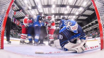 В сети появился видеообзор победы сборной России над Финляндией в 1/2 финала ЮЧМ-2021