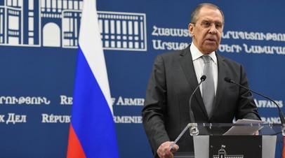 «Не будем оставлять без ответа»: Лавров рассказал об отношениях с Евросоюзом в свете антироссийских санкций