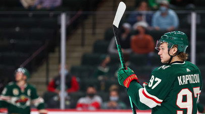 Капризов набрал более 50 очков в дебютном сезоне в НХЛ