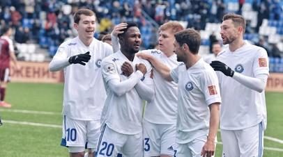 Футболисты ФК «Оренбург»