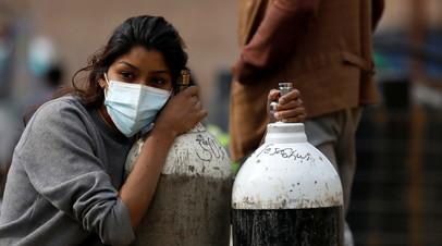 В Индии зафиксировали рост числа случаев мукормикоза